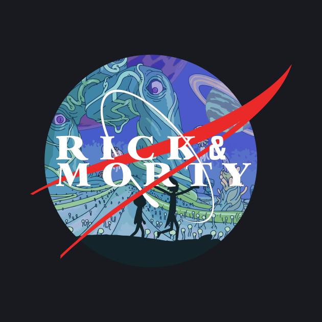 Rick and Morty NASA