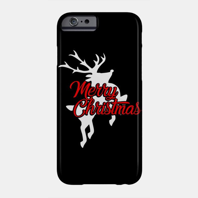 New Christmas Merry Christmas Flying Reindeer Phone Case