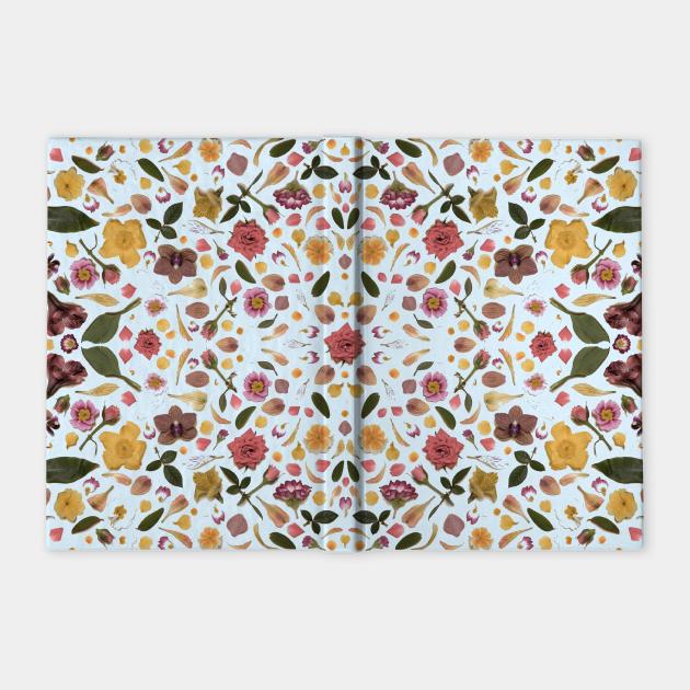 folklore floral pattern