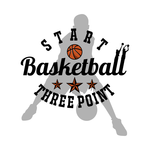 Start Basketball Start Three Point