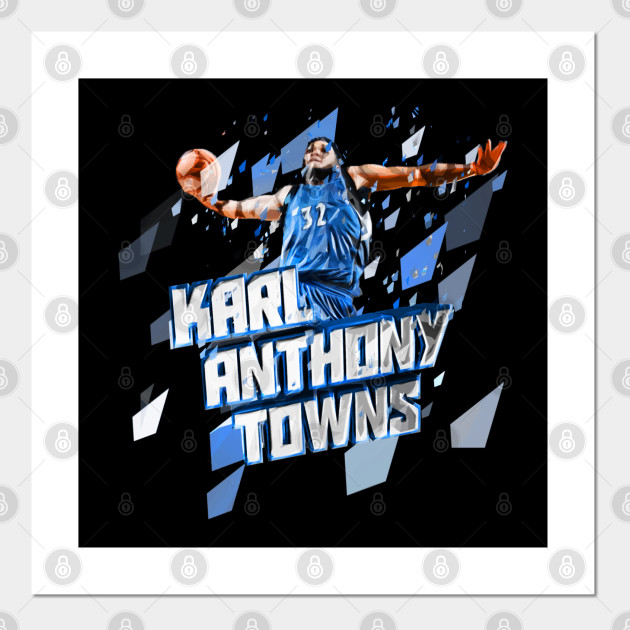 Karl Anthony Towns Artwork Karl Anthony Towns Posters And Art Prints Teepublic