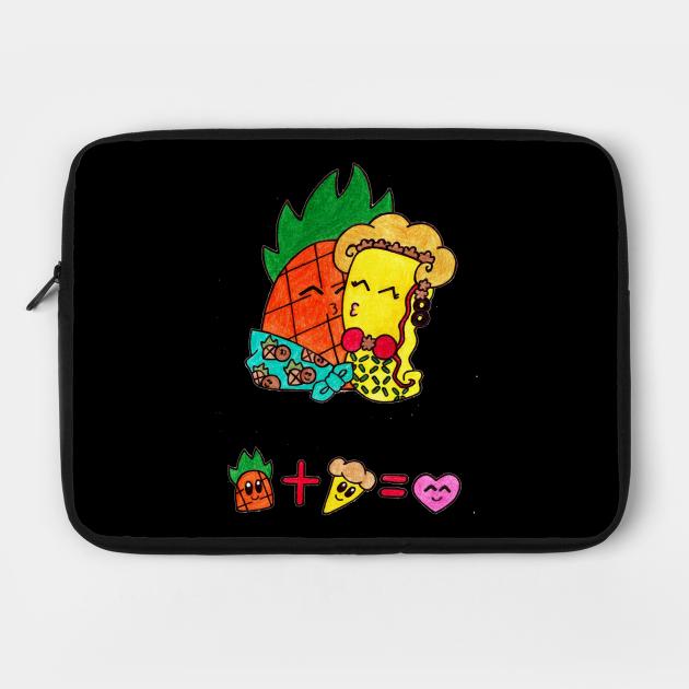 Pineapple + Pizza = Love