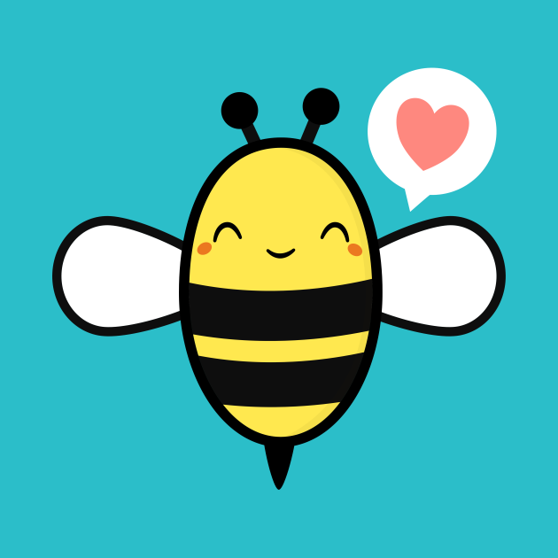 It's A Busy Bee Kawaii and Cute