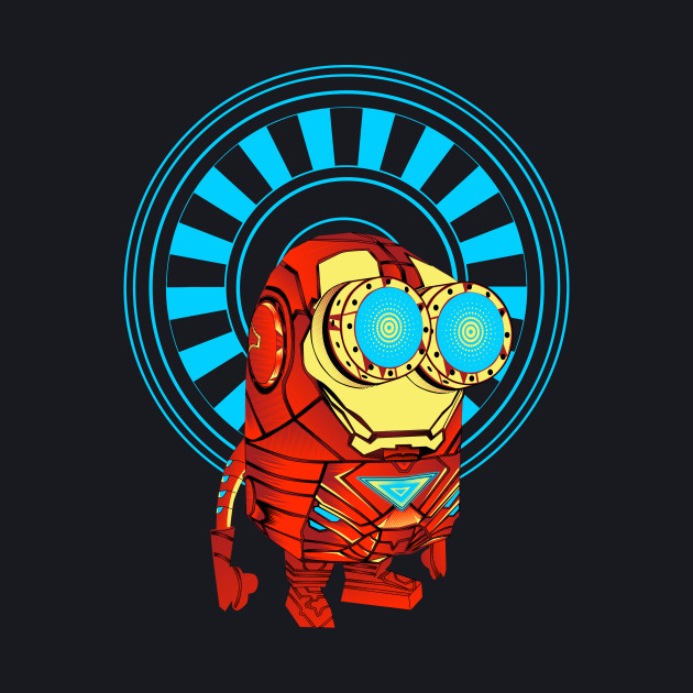 Minion in & as Ironman