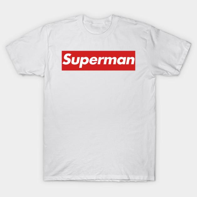 5560827bc7bd Supreme Superman - Supreme Superman - T-Shirt | TeePublic FR