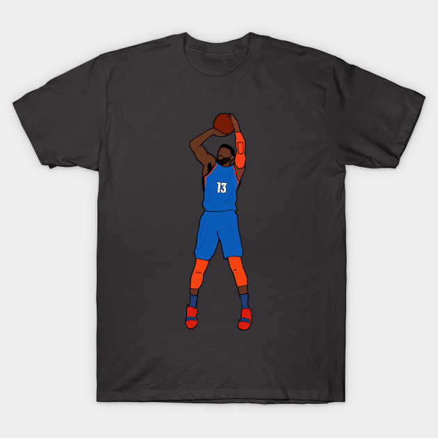 cheap for discount a977f ad818 Paul George Jumpshot - Oklahoma City Thunder