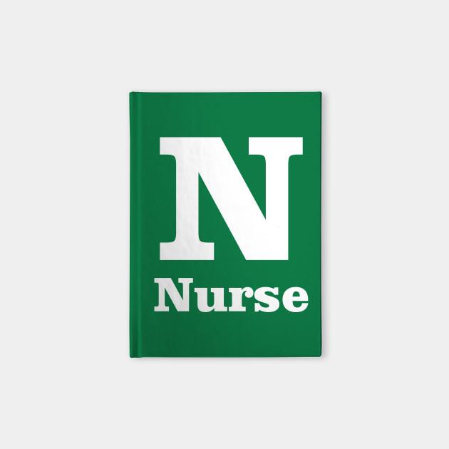 N For Nurse Phonetic Alphabet In Pandemic Phonetic Alphabet Notebook Teepublic