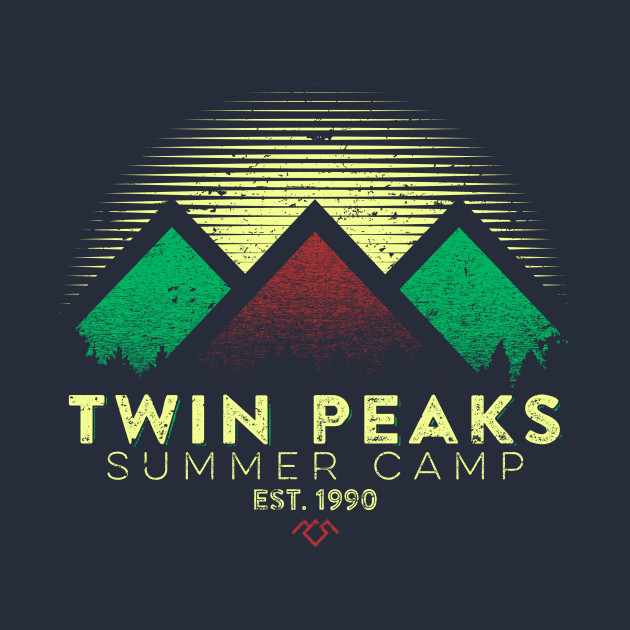 Twin Peaks Summer Camp (Dark) T-Shirt