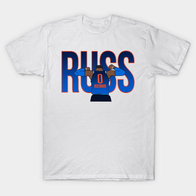 the best attitude 41493 3bdba Russell Westbrook 'RUSS' - Oklahoma City Thunder
