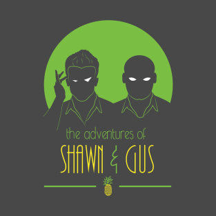 The Adventures of Shawn and Gus t-shirts