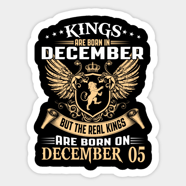 Legends Kings are Born on December 05