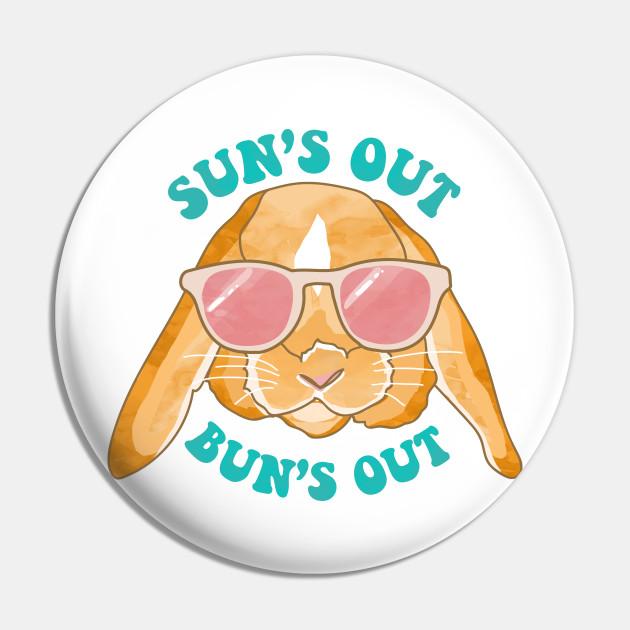 Sun's Out, Bun's Out Rabbit Illustration
