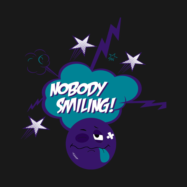 Nobody Smiling Emoji Grape