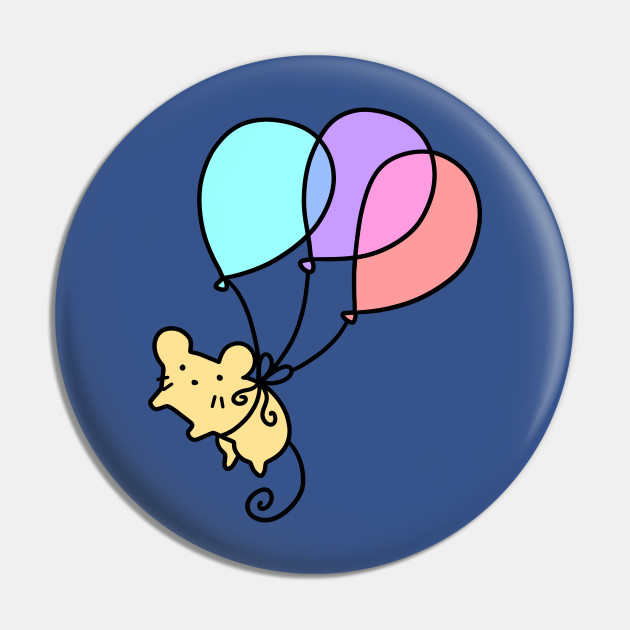 Pastel Balloon Mouse