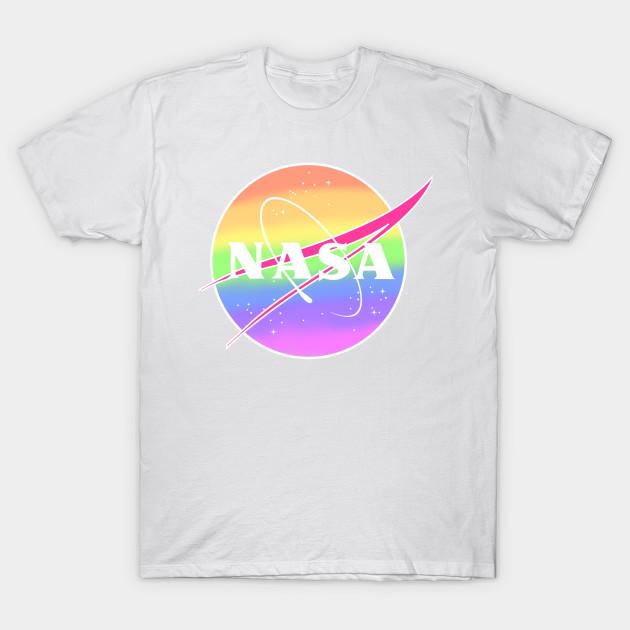 Retro NASA Meatball Logo T-Shirt Tee Luv NASA Long Sleeve Shirt