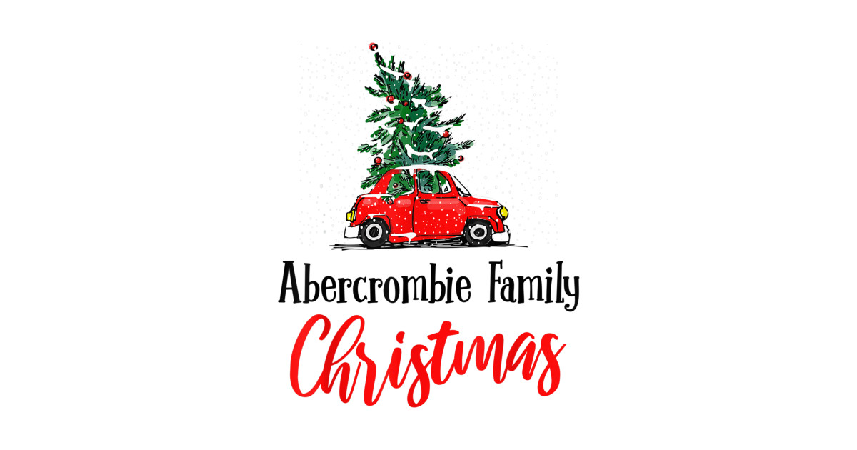 Merry Christmas 2019.Merry Christmas 2019 Abercrombie Scottish Family Matching By Oppteede