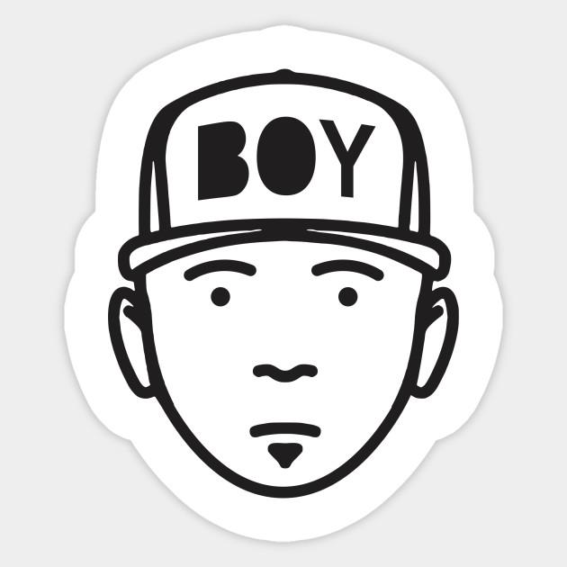 cute boy - Boy Hat Boys Sketch Simple Character Cartoon ...