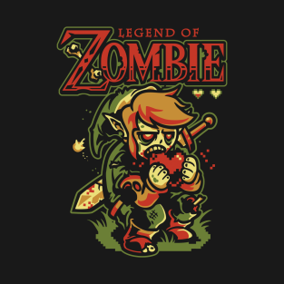 Legend of Zombie t-shirts