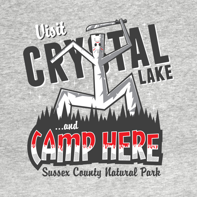 Camp Here T-Shirt