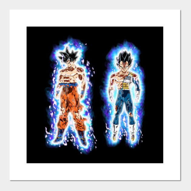 Ultra Instinct Goku and Vegeta