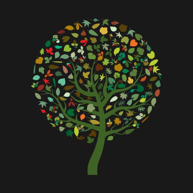 Autumn Leaves - Tree Hugger Design