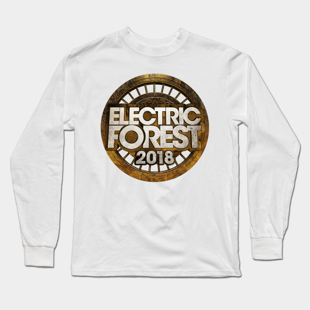 9bcd9dfb ELECTRIC FOREST 2018 - Electric Forest 2018 - Long Sleeve T-Shirt ...