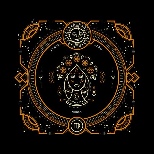 Virgo Sacred Symbol