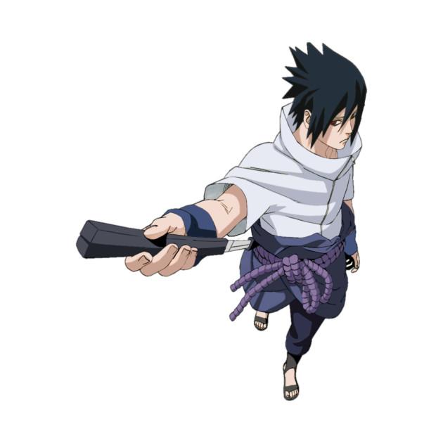 Naruto Shippuden /Sasuke Uchiha/ - Sasuke - T-Shirt ...