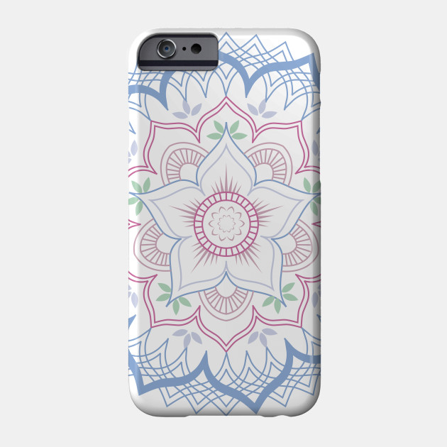 Lotus Flower Mandala Floral Mandala Phone Case Teepublic