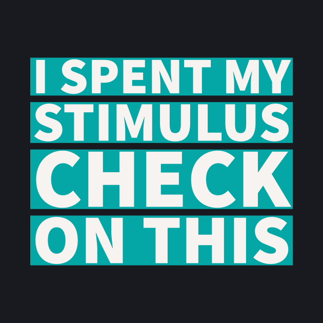 I spent my stimulus check on this