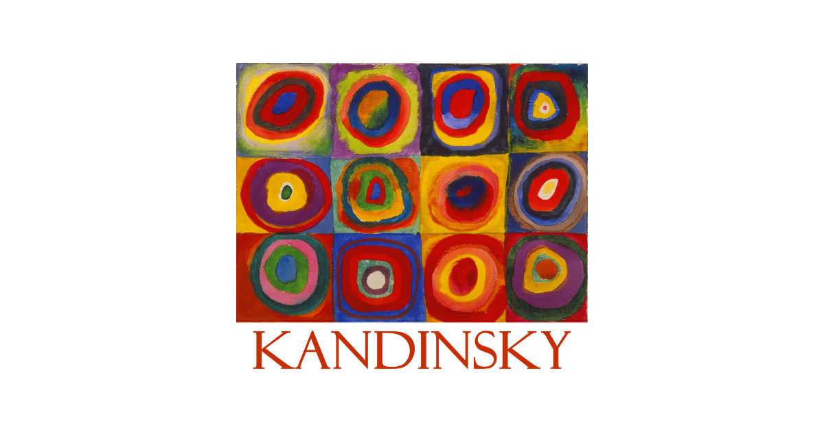 Squares With Concentric Circles By Wassily Kandinsky By Naves