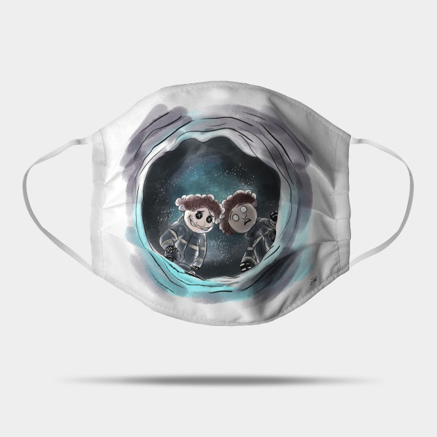 Coraline Wybie Coraline Mask Teepublic
