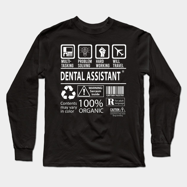 Dental Assistant Jobs Tee Shirt Dental Assistant T Shirt