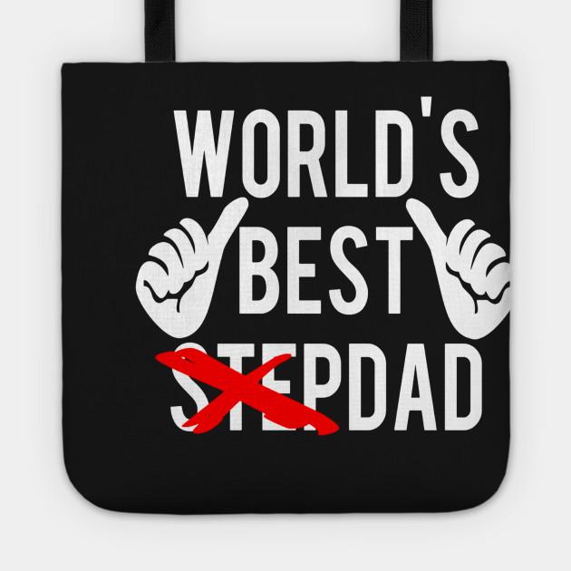 Men\'s World\'s Best Step Dad T shirt - Fun Christmas gift idea ...