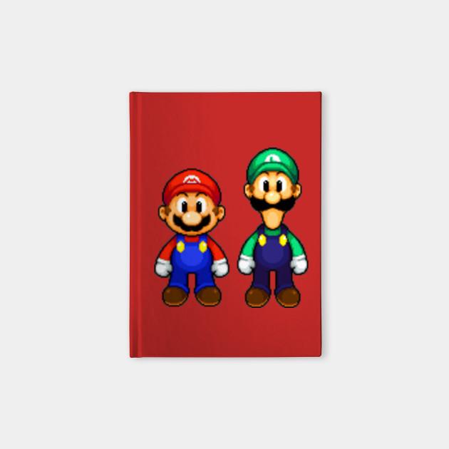 Mario And Luigi Pixel Art