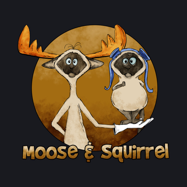moose and squirrel