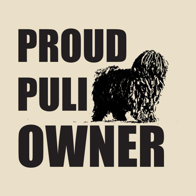 Proud Puli Owner