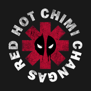Deadpool Red Hot Chimi t-shirts