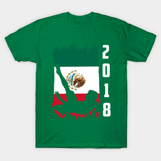 3210cf115 Mexico Soccer Football World Cup 2018 - World Cup 2018 - T-Shirt ...