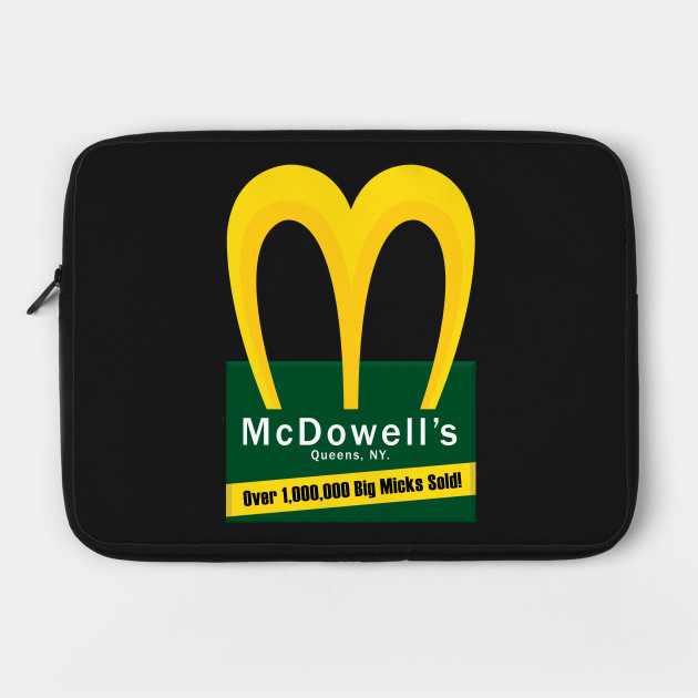 McDowell's, Queens NY. Home of the Big Mick.
