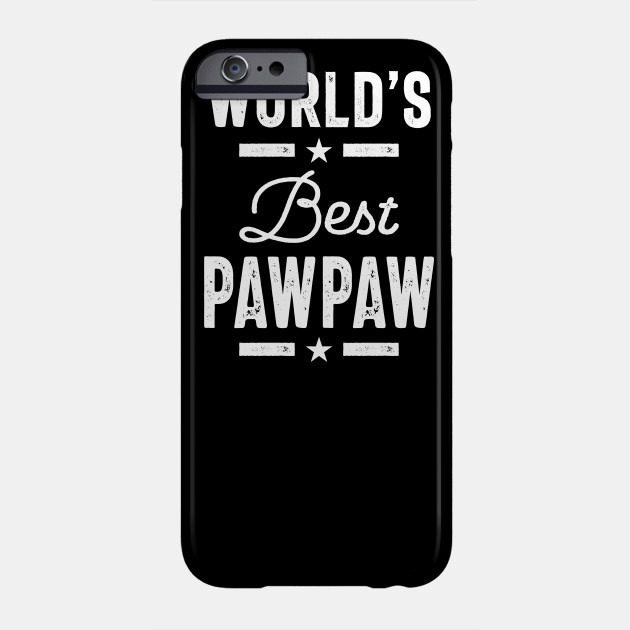 World's Best PawPaw Father Grandpa Gift Phone Case