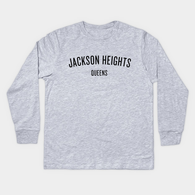 Jackson Heights - Queens - NYC - Jackson Heights - Kids Long Sleeve ... 3cb7b158974