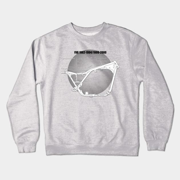 FXR frame blueprint - Crewneck Sweatshirt   TeePublic