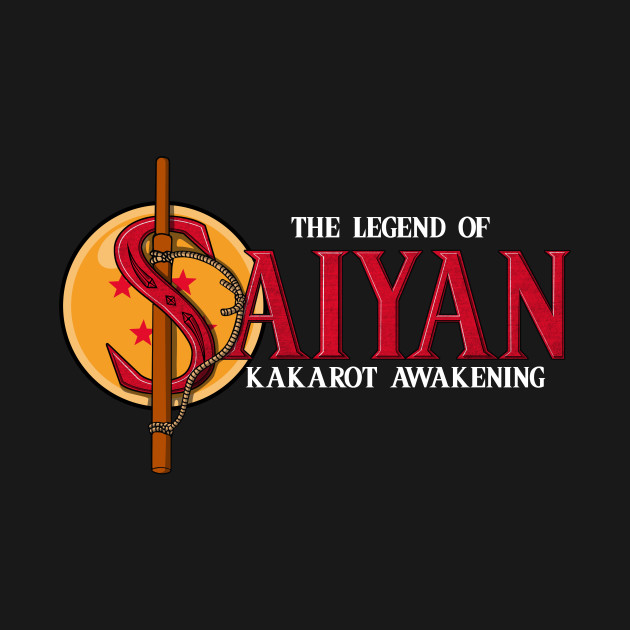 The Legend Of Saiyan T-Shirt