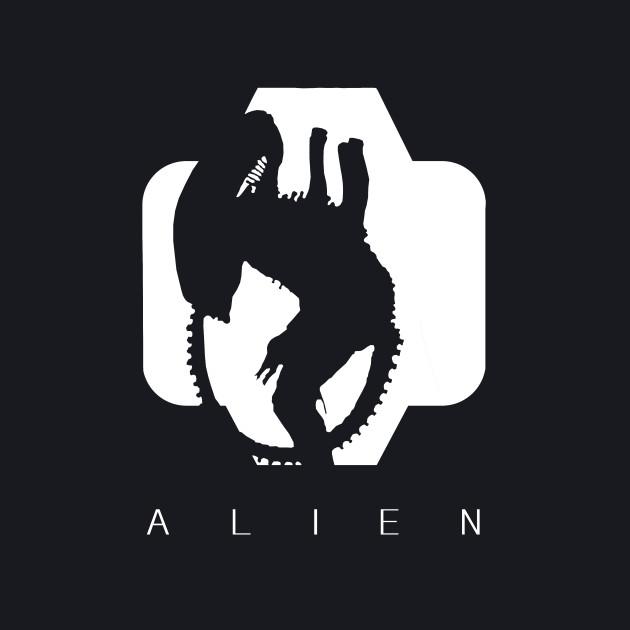 Alien Silhouette