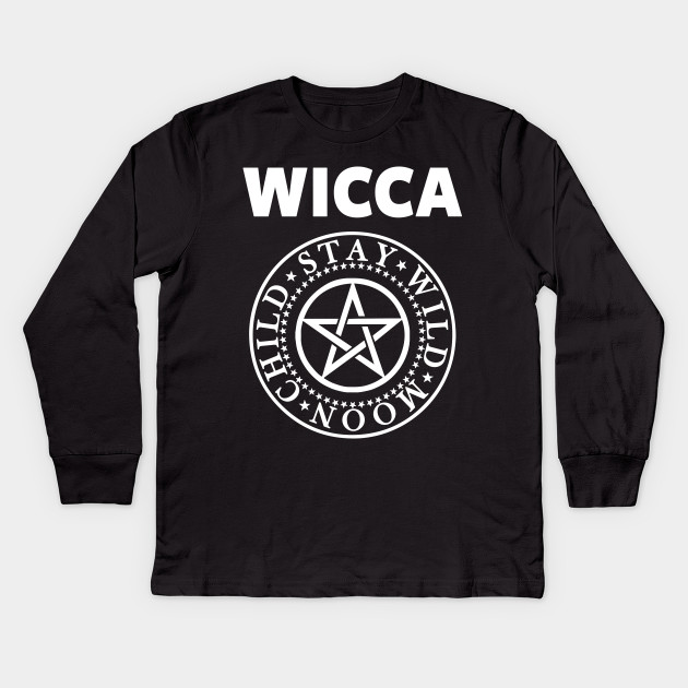 Wiccan Shirt Wicca T Shirt Pagan Shirt Wicca Kids Long