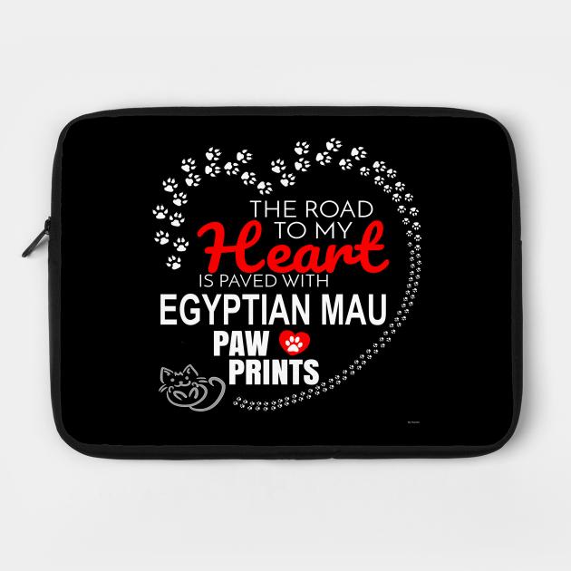 My Egyptian Mau Paw Prints - Gift For Egyptian Mau Parent