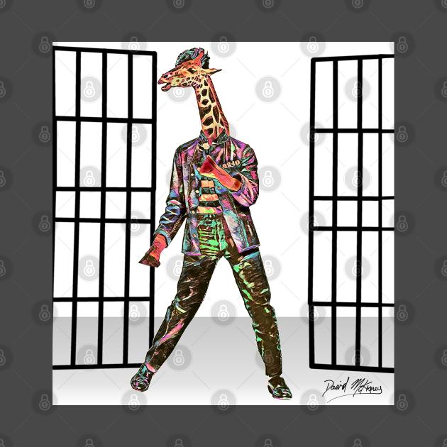 Swag Mashup pop culture JAILHOUSE ROCK N GIRAFFE
