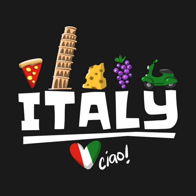 Love Italy and Everything Italian Culture T-shirt