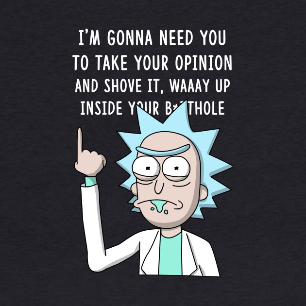 Rick Take your opinion (Color)